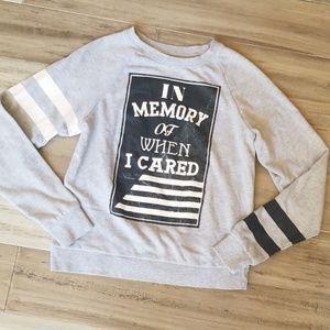 Mighty Fine Varsity Style Lightweight Sweatshirt